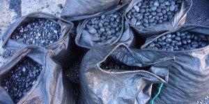 boulets de charbon