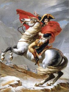 Bonaparte au col du grand saint bernard
